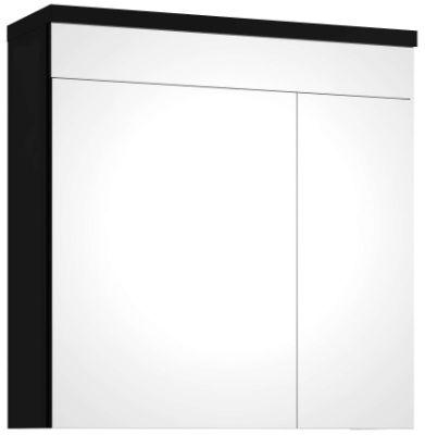 duża szafka do łazienki z lustrem Koło