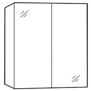 lustrzana szafka